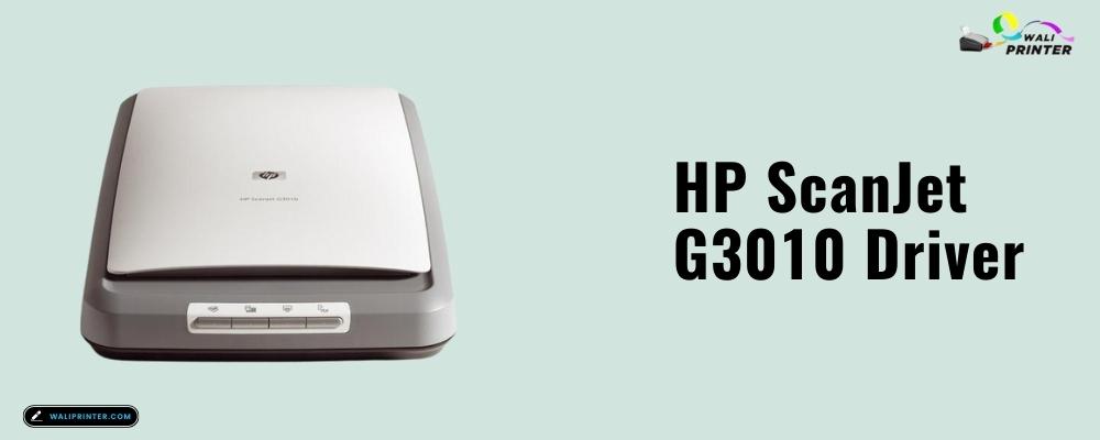 HP ScanJet G3010 Driver